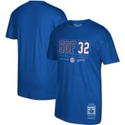 Wholesale Cheap Toronto Blue Jays #32 Roy Halladay Mitchell & Ness 2019 Hall of Fame Graphic T-Shirt Royal