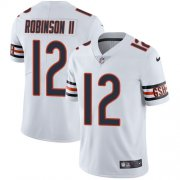 Wholesale Cheap Nike Bears #12 Allen Robinson II White Men's Stitched NFL Vapor Untouchable Limited Jersey