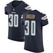 Wholesale Cheap Nike Chargers #30 Austin Ekeler Navy Blue Team Color Men's Stitched NFL Vapor Untouchable Elite Jersey