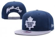 Wholesale Cheap NHL Toronto Maple Leafs Stitched Snapback Hats 002