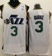 Wholesale Cheap Utah Jazz #3 Trey Burke White Swingman Jersey