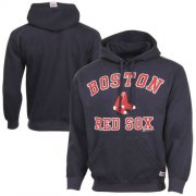 Wholesale Cheap Boston Red Sox Fastball Fleece Pullover Navy Blue MLB Hoodie
