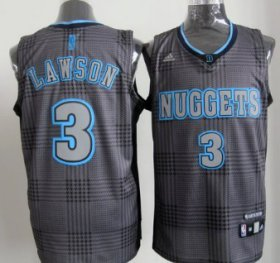Wholesale Cheap Denver Nuggets #3 Ty Lawson Black Rhythm Fashion Jersey