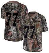 Wholesale Cheap Nike Saints #77 Willie Roaf Camo Men's Stitched NFL Limited Rush Realtree Jersey