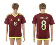 Wholesale Cheap Venezuela #8 Rincon Home Soccer Country Jersey