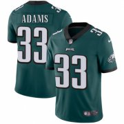 Wholesale Cheap Nike Eagles #33 Josh Adams Midnight Green Team Color Men's Stitched NFL Vapor Untouchable Limited Jersey