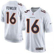 Wholesale Cheap Nike Broncos #16 Bennie Fowler White Men's Stitched NFL Game Event Jersey