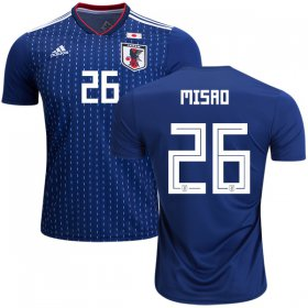 Wholesale Cheap Japan #26 Misao Home Soccer Country Jersey