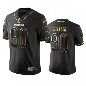 Wholesale Cheap Nike Bears #90 Jonathan Bullard Black Golden Limited Edition Stitched NFL Jersey