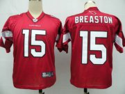 Wholesale Cheap Cardinals #15 Steve Breaston Red Stitched NFL Jersey