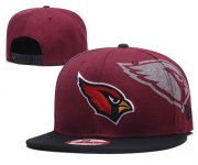 Wholesale Cheap Arizona Cardinals Team Logo Red Adjustable Hat