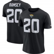 Wholesale Cheap Jacksonville Jaguars #20 Jalen Ramsey Nike Player Pride Name & Number Performance T-Shirt Black