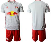 Wholesale Cheap Red Bull Blank White Home Soccer Club Jersey