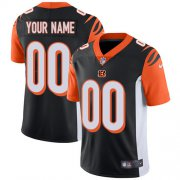 Wholesale Cheap Nike Cincinnati Bengals Customized Black Team Color Stitched Vapor Untouchable Limited Men's NFL Jersey