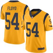 Wholesale Cheap Nike Rams #54 Leonard Floyd Gold Men's Stitched NFL Limited Rush Jersey