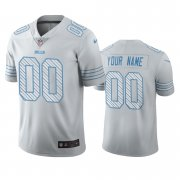 Wholesale Cheap Buffalo Bills Custom White Vapor Limited City Edition NFL Jersey