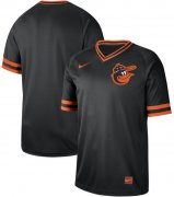 Wholesale Cheap Nike Orioles Blank Black Authentic Cooperstown Collection Stitched MLB Jersey