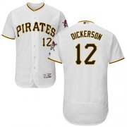 Wholesale Cheap Pirates #12 Corey Dickerson White Flexbase Authentic Collection Stitched MLB Jersey