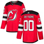 Wholesale Cheap Men's Adidas Devils Personalized Authentic Red Home NHL Jersey