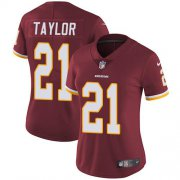 Wholesale Cheap Nike Redskins #21 Sean Taylor Burgundy Red Team Color Women's Stitched NFL Vapor Untouchable Limited Jersey