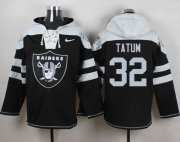 Wholesale Cheap Nike Raiders #32 Jack Tatum Black Player Pullover NFL Hoodie