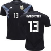Wholesale Cheap Argentina #13 Kranevitter Away Soccer Country Jersey