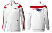Wholesale Cheap MLB New York Mets Zip Jacket White_4