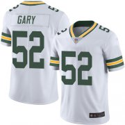 Wholesale Cheap Nike Packers #52 Rashan Gary White Men's Stitched NFL Vapor Untouchable Limited Jersey