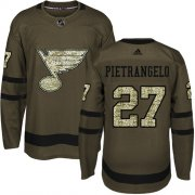 Wholesale Cheap Adidas Blues #27 Alex Pietrangelo Green Salute to Service Stitched NHL Jersey