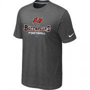 Wholesale Cheap Nike Tampa Bay Buccaneers Big & Tall Critical Victory NFL T-Shirt Dark Grey