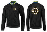 Wholesale Cheap NHL Boston Bruins Zip Jackets Black-3