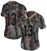 Wholesale Cheap Nike Texans #13 Brandin Cooks Camo Women's Stitched NFL Limited Rush Realtree Jersey