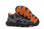 Wholesale Cheap Nike Kyire 5 Women Black Silver Orange