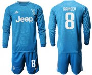 Wholesale Cheap Juventus #8 Ramsey Third Long Sleeves Soccer Club Jersey