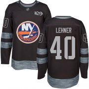 Wholesale Cheap Adidas Islanders #40 Robin Lehner Black 1917-2017 100th Anniversary Stitched NHL Jersey