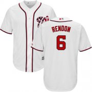 Wholesale Cheap Nationals #6 Anthony Rendon White New Cool Base Stitched MLB Jersey