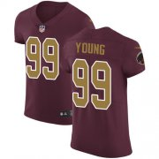 Wholesale Cheap Nike Redskins #99 Chase Young Burgundy Red Alternate Men's Stitched NFL New Elite Jersey