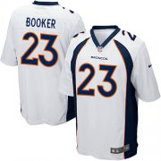 Wholesale Cheap Nike Broncos #23 Devontae Booker White Youth Stitched NFL New Elite Jersey