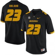 Wholesale Cheap Missouri Tigers 23 Johnny Roland Black Nike College Football Jersey