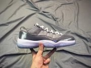 Wholesale Cheap Air Jordan 11 Low Cool Grey Grey/White