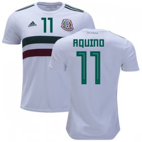 Wholesale Cheap Mexico #11 Aquino Away Kid Soccer Country Jersey