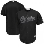 Wholesale Men's Baltimore Orioles Nike Black Cooperstown Collection Dry Fly Shorts