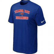 Wholesale Cheap Nike NFL Tampa Bay Buccaneers Heart & Soul NFL T-Shirt Blue