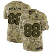 Wholesale Cheap Nike Saints #88 Dez Bryant Camo Men's Stitched NFL Limited 2018 Salute To Service Jersey