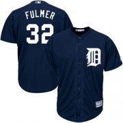 Wholesale Cheap Tigers #32 Michael Fulmer Navy Blue Cool Base Stitched Youth MLB Jersey