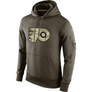 Wholesale Cheap Men's Philadelphia Flyers Nike Salute To Service NHL Hoodie