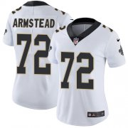 Wholesale Cheap Nike Saints #72 Terron Armstead White Women's Stitched NFL Vapor Untouchable Limited Jersey