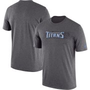 Wholesale Cheap Tennessee Titans Nike Sideline Seismic Legend Performance T-Shirt Charcoal