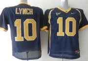 Wholesale Cheap California Golden Bears #10 Lynch Blue Jersey