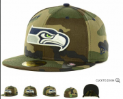 Wholesale Cheap Seattle Seahawks fitted hats 11